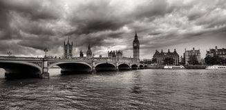 Houses of Parliament in London Royalty Free Stock Photo