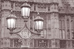 Houses of Parliament in London Royalty Free Stock Photography