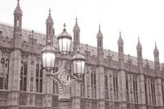 Houses of Parliament in London Stock Photo