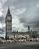 Houses of Parliament, London, Royalty Free Stock Images