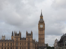 Houses of Parliament in London. Houses of Parliament aka Westminster Palace of London, UK Royalty Free Stock Photography