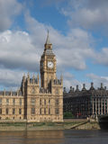 Houses of Parliament in London. Houses of Parliament aka Westminster Palace of London, UK Stock Photos