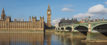 Houses of Parliament in London Stock Photos