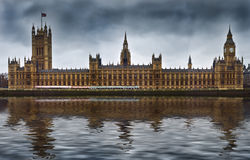 Houses of Parliament in London England Royalty Free Stock Photography