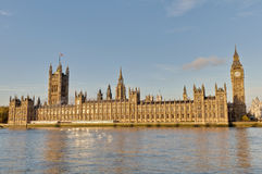 Houses of Parliament at London, England Stock Photo
