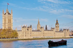Houses of Parliament at London, England Royalty Free Stock Image