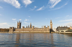 Houses of Parliament at London, England Stock Images