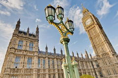 Houses of Parliament at London, England. Houses of Parliament building at London, England Royalty Free Stock Image