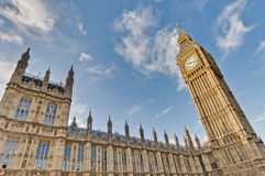 Houses of Parliament at London, England Stock Photos