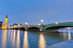 Houses of Parliament at London, England Royalty Free Stock Photography