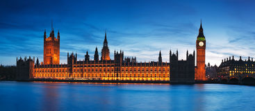 Houses of Parliament, London - England Royalty Free Stock Image