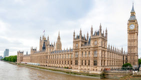 Houses of Parliament in London, England Stock Image