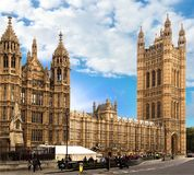The Houses of Parliament London England Royalty Free Stock Photos