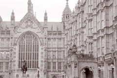 Houses of Parliament, London, England, UK Royalty Free Stock Photography