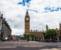 Houses of Parliament in London, hdr Royalty Free Stock Image