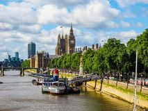 Houses of Parliament in London, hdr Stock Photography