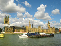 The Houses of Parliament, London. Taken from the South Bank Stock Photos