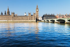 Houses of Parliament, London. Royalty Free Stock Image