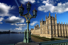 Houses of Parliament in London, UK Stock Photography