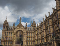 Houses of Parliament in London. LONDON, UK - CIRCA JUNE 2017: Houses of Parliament aka Westminster Palace Stock Image