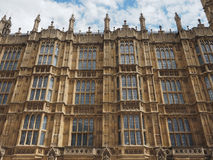 Houses of Parliament in London. LONDON, UK - CIRCA JUNE 2017: Houses of Parliament aka Westminster Palace Royalty Free Stock Photography