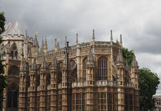 Houses of Parliament in London. LONDON, UK - CIRCA JUNE 2017: Houses of Parliament aka Westminster Palace Stock Images