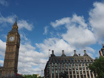 Houses of Parliament in London. LONDON, UK - CIRCA JUNE 2017: Houses of Parliament aka Westminster Palace Royalty Free Stock Photos