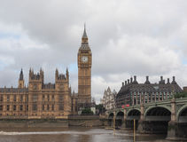 Houses of Parliament in London. LONDON, UK - CIRCA JUNE 2017: Houses of Parliament aka Westminster Palace Stock Photography