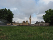 Houses of Parliament in London. LONDON, UK - CIRCA JUNE 2017: Houses of Parliament aka Westminster Palace Royalty Free Stock Image
