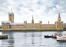 Houses of Parliament in London UK Stock Photos