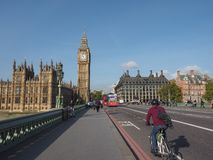 Houses of Parliament in London Royalty Free Stock Photos
