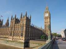 Houses of Parliament in London Stock Images
