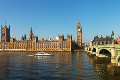 Houses of parliament, London. Stock Images