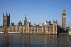 Houses of parliament, London. Royalty Free Stock Photography
