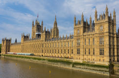 Houses of Parliament. From the side Royalty Free Stock Photo