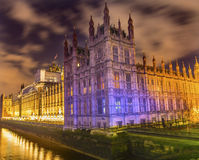 Houses of Parliament Thames River Westminster Bridge London England Royalty Free Stock Photo