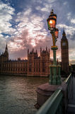 The houses of parliament Stock Image