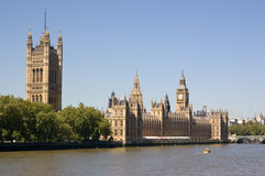 Houses of Parliament, Westminster Royalty Free Stock Images