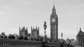 Houses of Parliament. The houses of Parliament and Westminster bridge stock photography