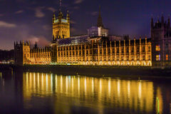 Houses of Parliament Westminster London England Stock Image