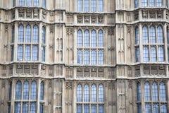 Houses of Parliament, Westminster; London. Facade of Houses of Parliament, Westminster; London, England, UK Stock Photos