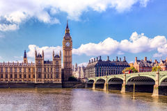 Houses of Parliament, Westminster, London Royalty Free Stock Images
