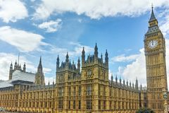 Houses of Parliament, Westminster Palace, London, England, Great Britain Royalty Free Stock Images