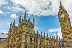 Houses of Parliament, Westminster Palace, London, England, Great Britain Stock Photo