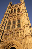 Houses of Parliment. At Westminster against clear blue sky, London, UK Stock Images