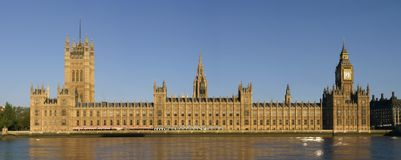 Houses of Parliment Stock Photography
