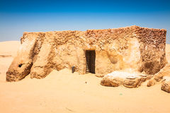 The houses from planet Tatouine - Star Wars film set,Nefta Tunis Royalty Free Stock Images