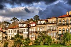Houses of Ponte de Lima Stock Photos