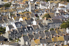 Houses on Portland, Dorset Stock Images
