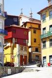 Houses in Porto stock photo